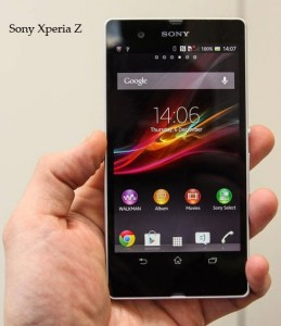 Sony Xperia Z photo