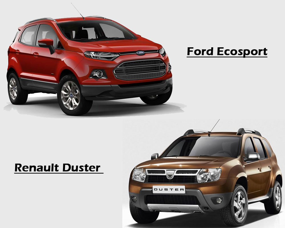 Ford Ecosport-vs-Renault Duster