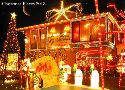 Christmas places