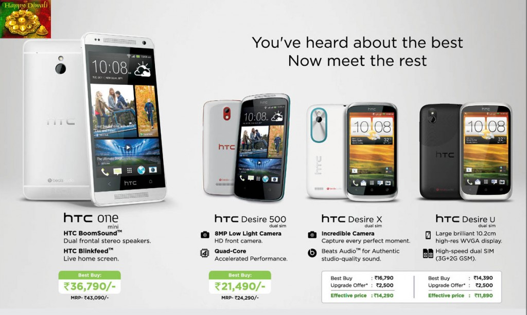 HTC Mobiles Offers