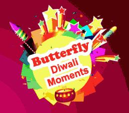 butterfly diwali moments