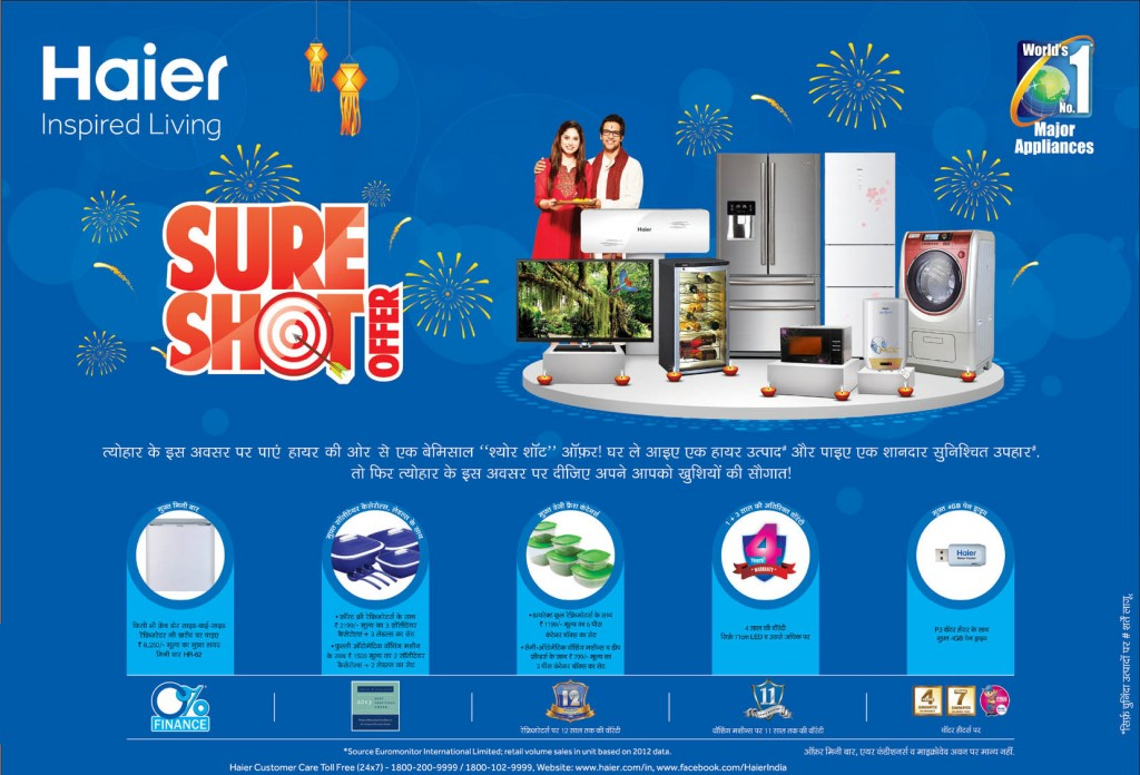 haier diwali offer