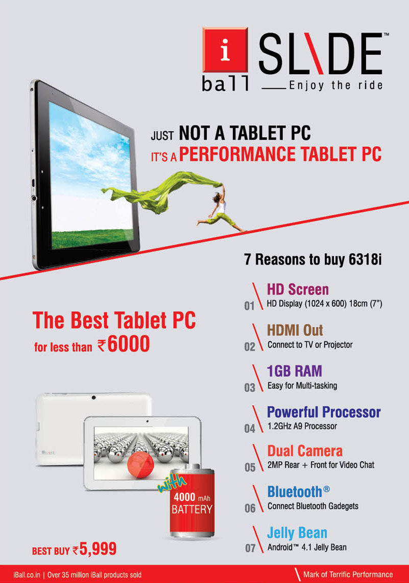 iball tablet offer