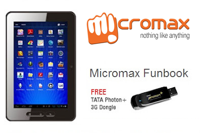 micromax funbook offer