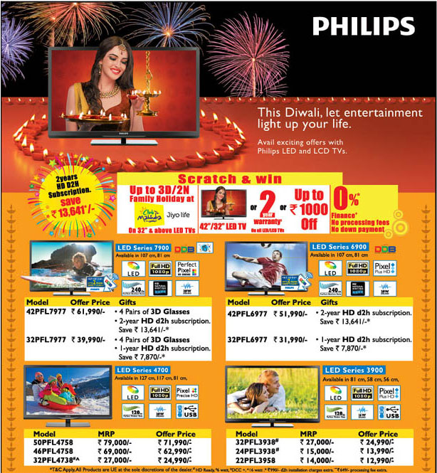 philips tv offer