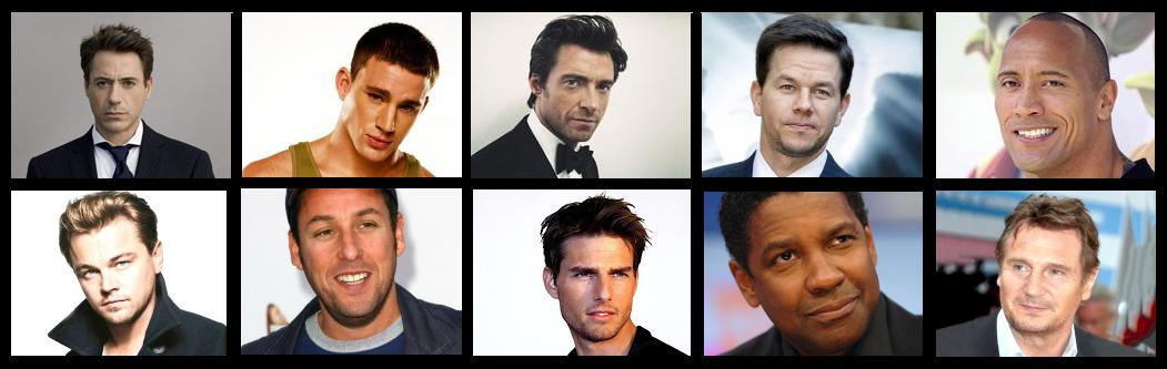 Highest paid actors in Hollywood