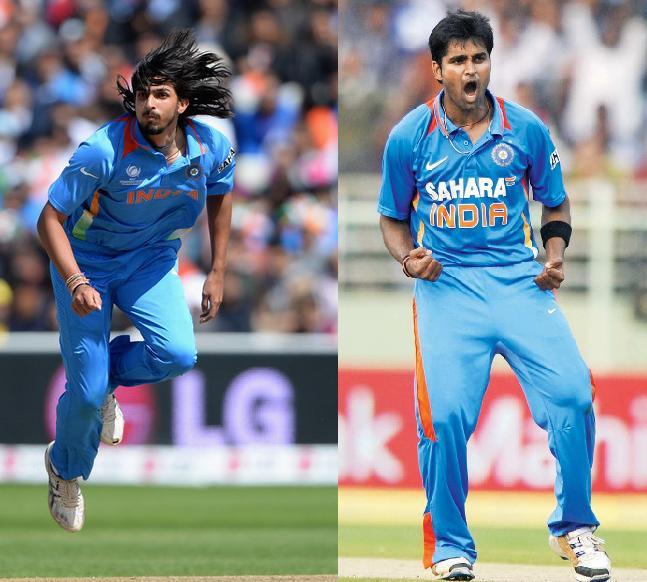 Ishant Sharma and Vinay Kumar