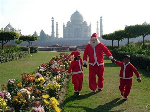 Indian Colors of Christmas with Traditional Touch of Enthusiasm ...