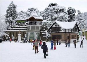 chritmas places in shimla