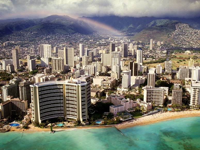 HONOLULU CITY, HAWAI