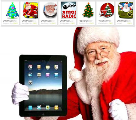 Musical Apps christmas