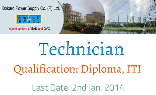 bpscl job 2014