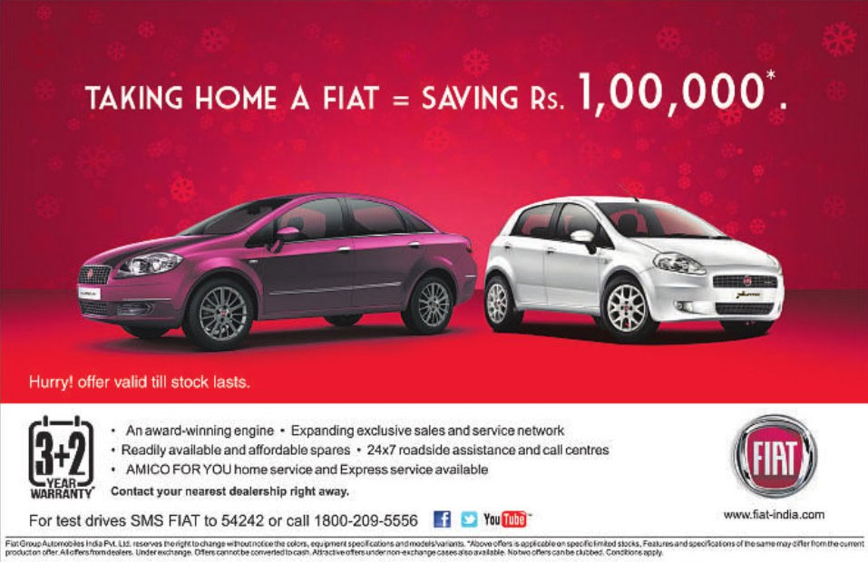 fiat offer on christmas 2013