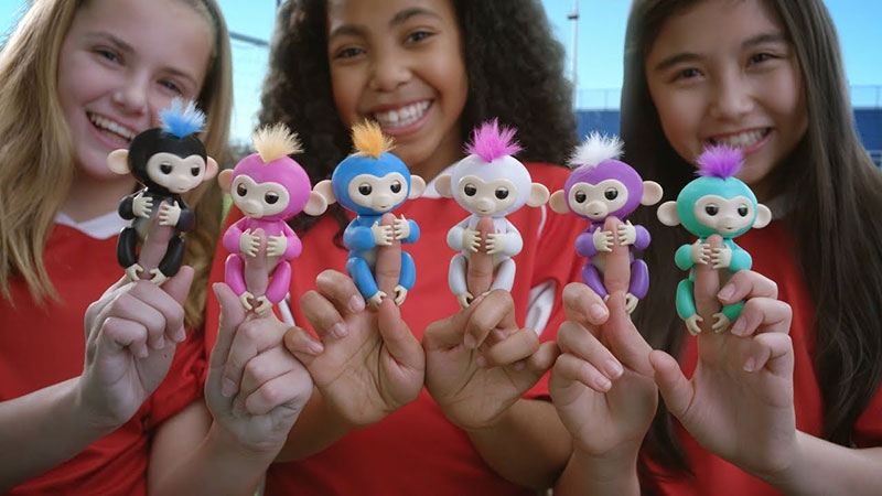 Fingerlings Interactive Toy Monkey