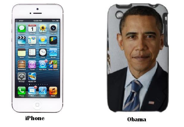 iPhone and Barack Obama