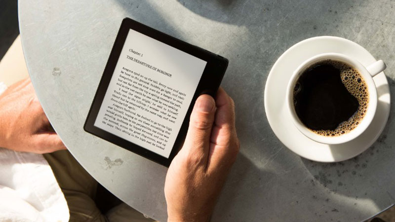 New Amazon Kindle Oasis