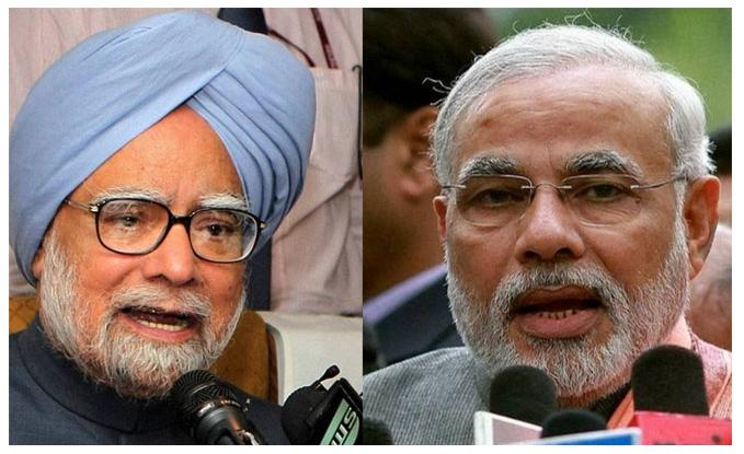 Manmohan and Modi