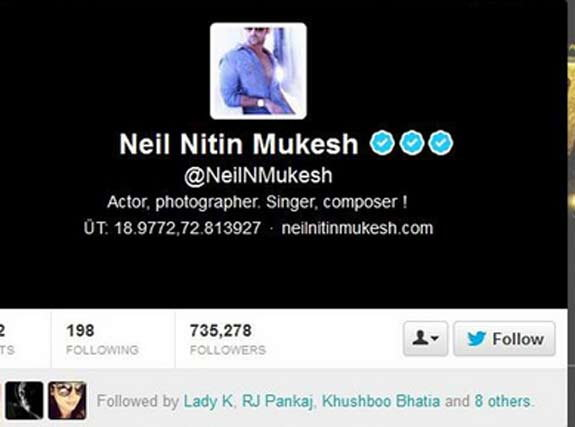 Neil Nitin Mukesh on Twitter Joke