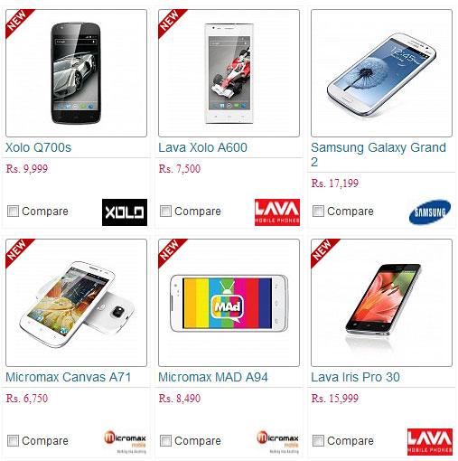 new smartphone india