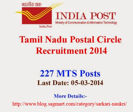 Post master jobs MTS