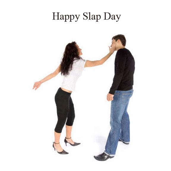 happy Slap Day