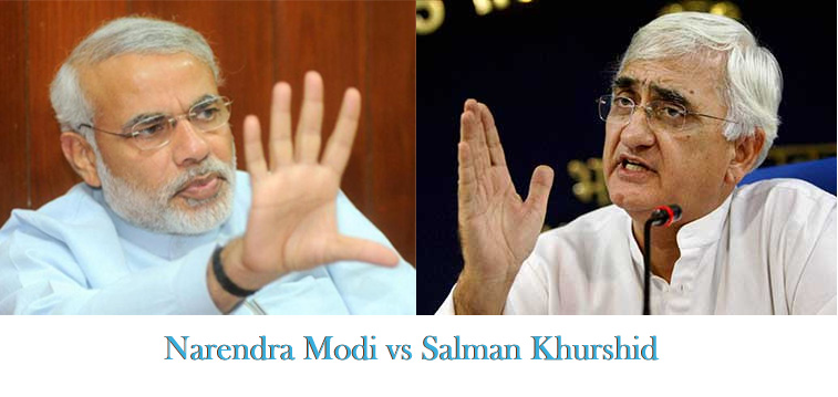 modi vs khurshid