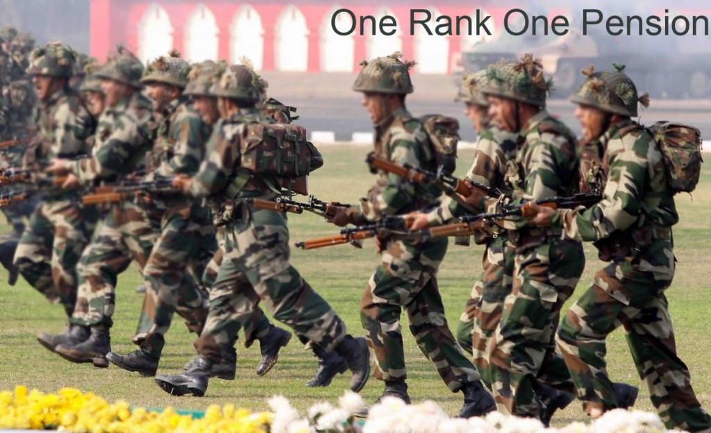 one rank one pension rule