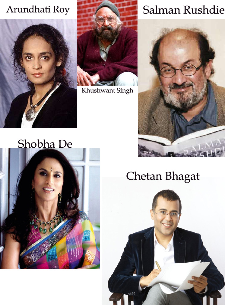 Indian Controversial Writers