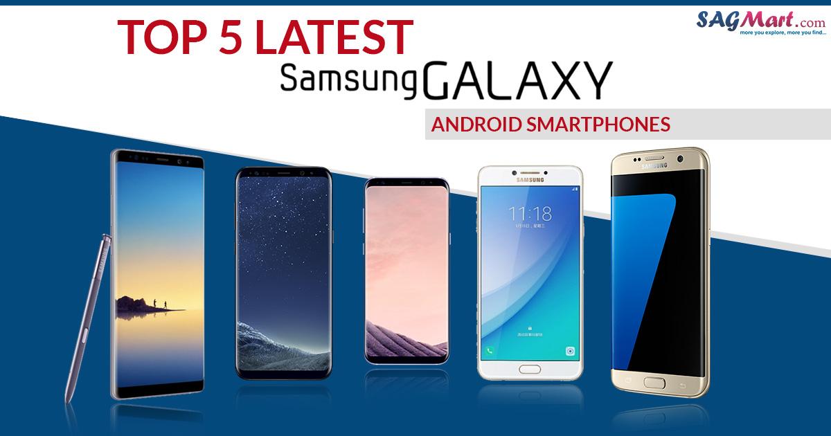 best 5 Samsung smartphones