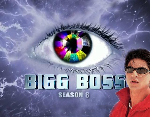 bigg boss 8 Shahrukh Khan