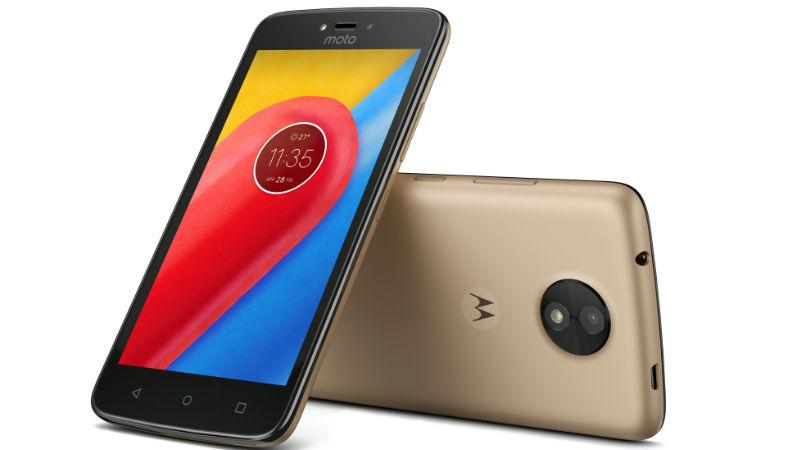 Moto C Plus Smartphone