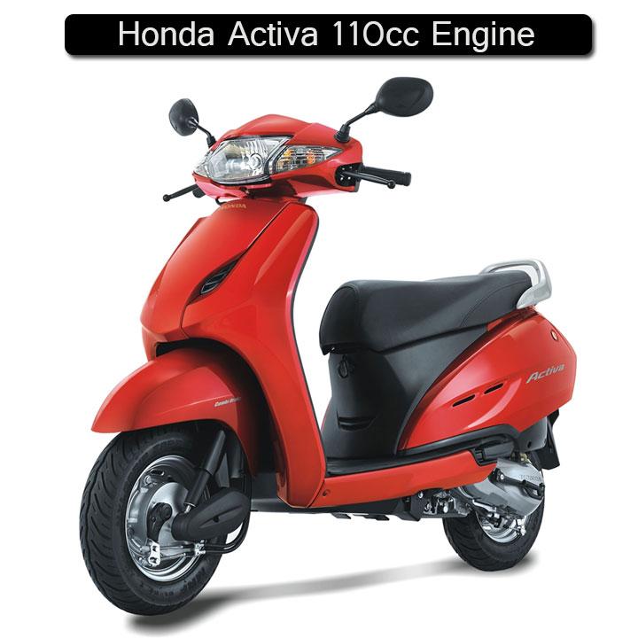Honda Activa 110cc engine