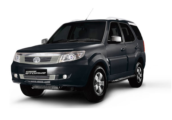 Tata Safari Strome Dark Black