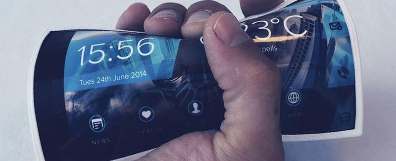 Flexible & Wearable Smartphone