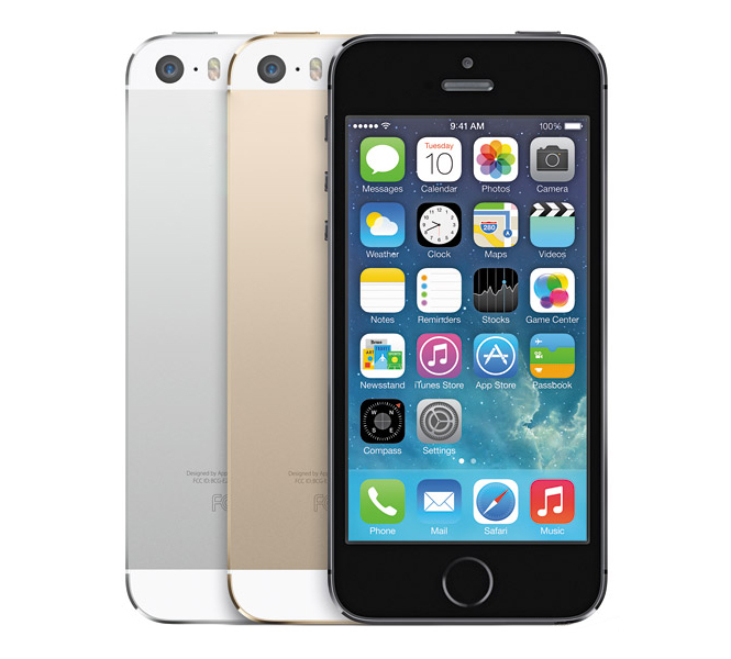 iPhone 5S brilliant phone