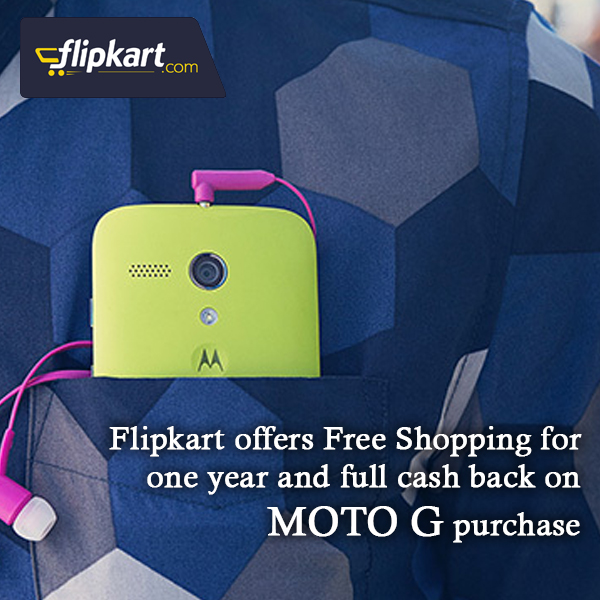 moto g flipkart offer