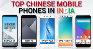 Top Chinese Phones in India