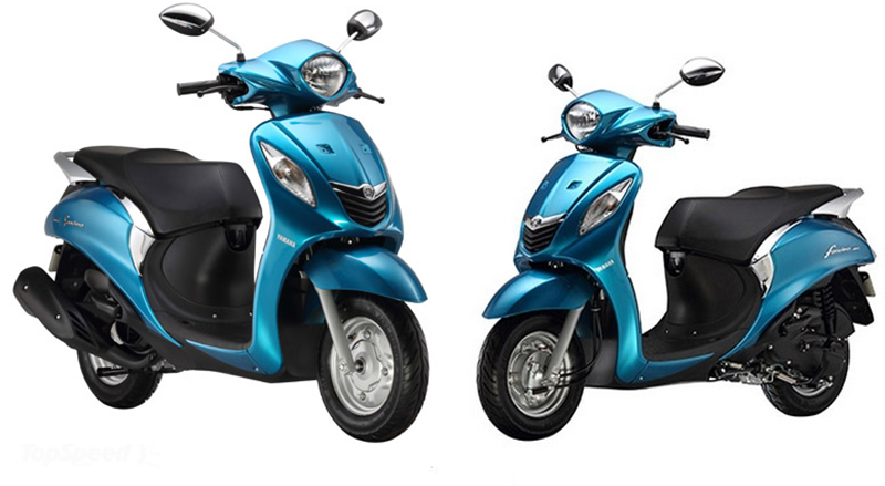 Best scooters for women in india sagmart for Yamaha motorcycles for women