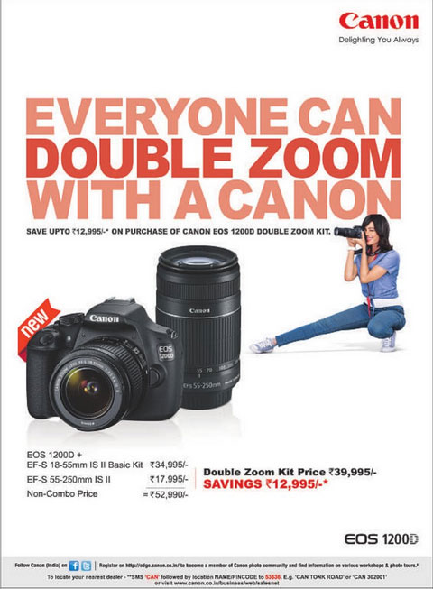 canon camera offer