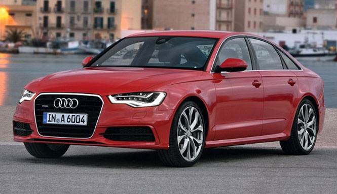 Upcoming Audi A6 Facelift model