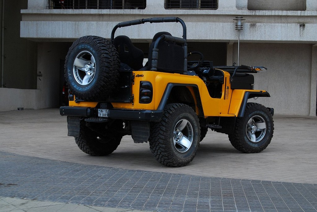 Mahindra Thar Colors