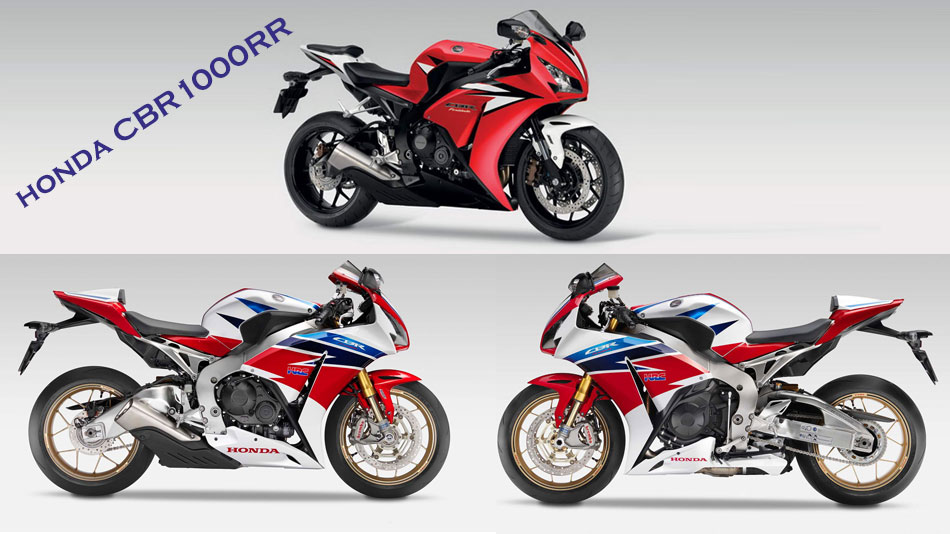honda CBR1000RR Triple color scheme