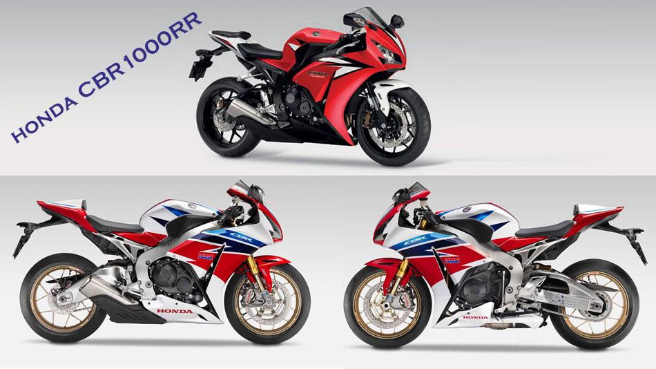 honda CBR1000RR Triple color scheme