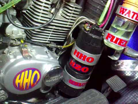HHO kits in motorbikes to increase mileage
