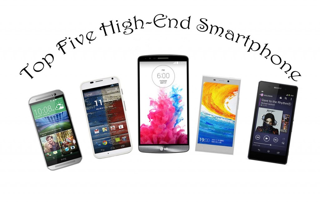 Top 5 Android Smartphones
