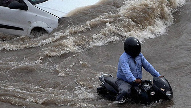 Motorbike starting trouble in Monsoons