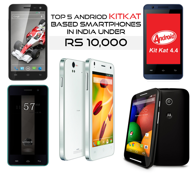 Smartphone under 10000 Rs