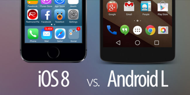 iOS 8 and Android L