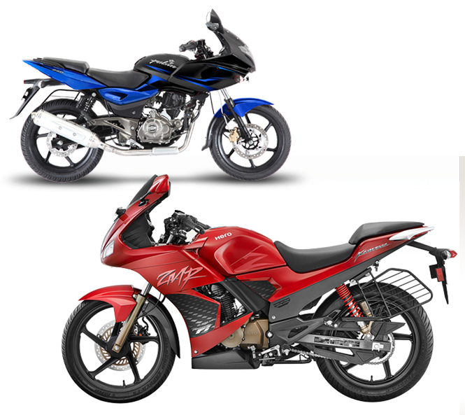 Hero Karizma ZMR vs Bajaj Pulsar 220, powerful battle 2