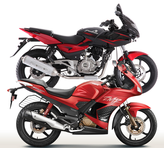 Hero Karizma ZMR vs Bajaj Pulsar 220, powerful battle 1